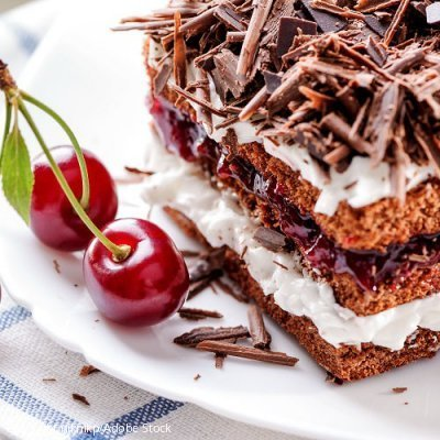 Hausgemachte Torten und Kuchen