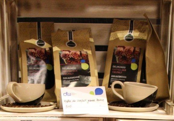 Im DELSUL gibt es unsere Delmundo-Kaffees aus eigener Röstung.