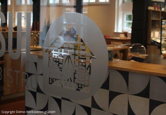Einblick in das Café DELSUL